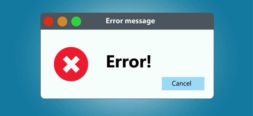 Errors In WordPress